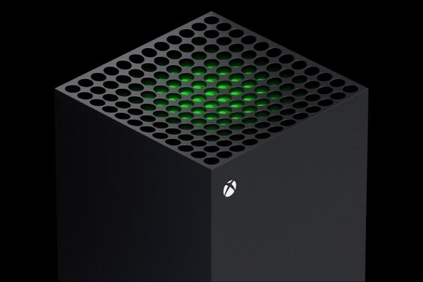 Haut de la Xbox Series X