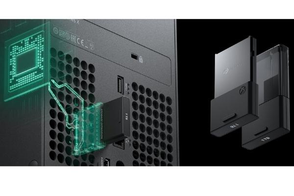 Stockage extensible seagate Xbox Series x